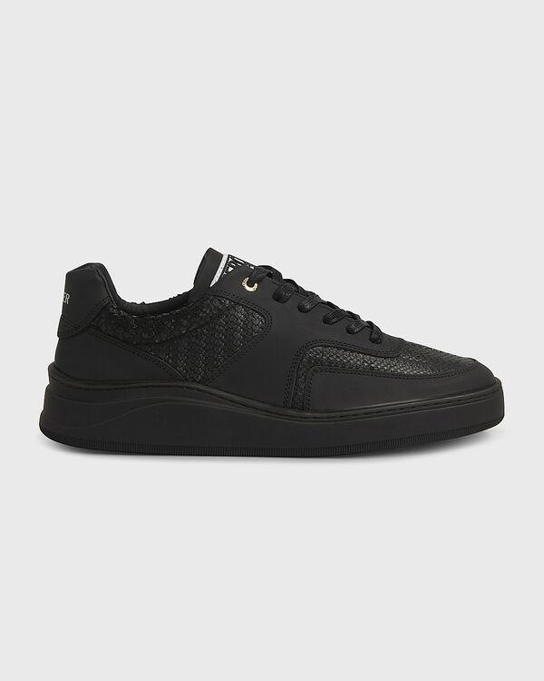 Lowtop 4.0 Gum Leather Python Black