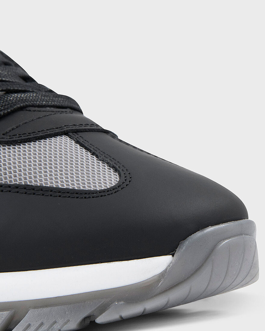 WOOSTER 2.0 - SBL SNAKE LEATHER - BLACK, Black/Grey, hi-res
