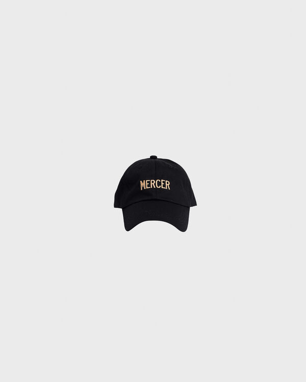 Mercer Dad Cap Premium Cotton Black