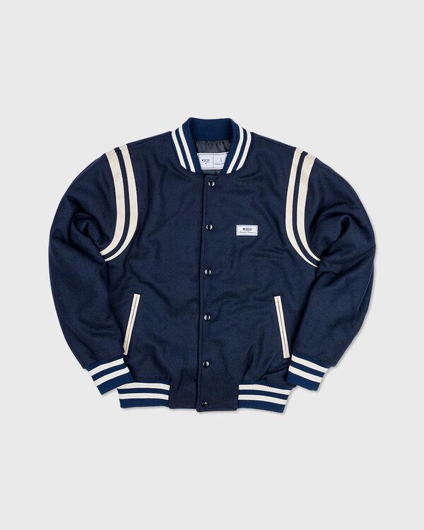 Mercer Varsity Wool Navy