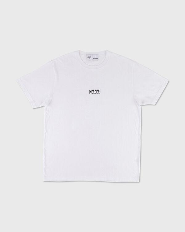 Mercer T-Shirt Premium Cotton White