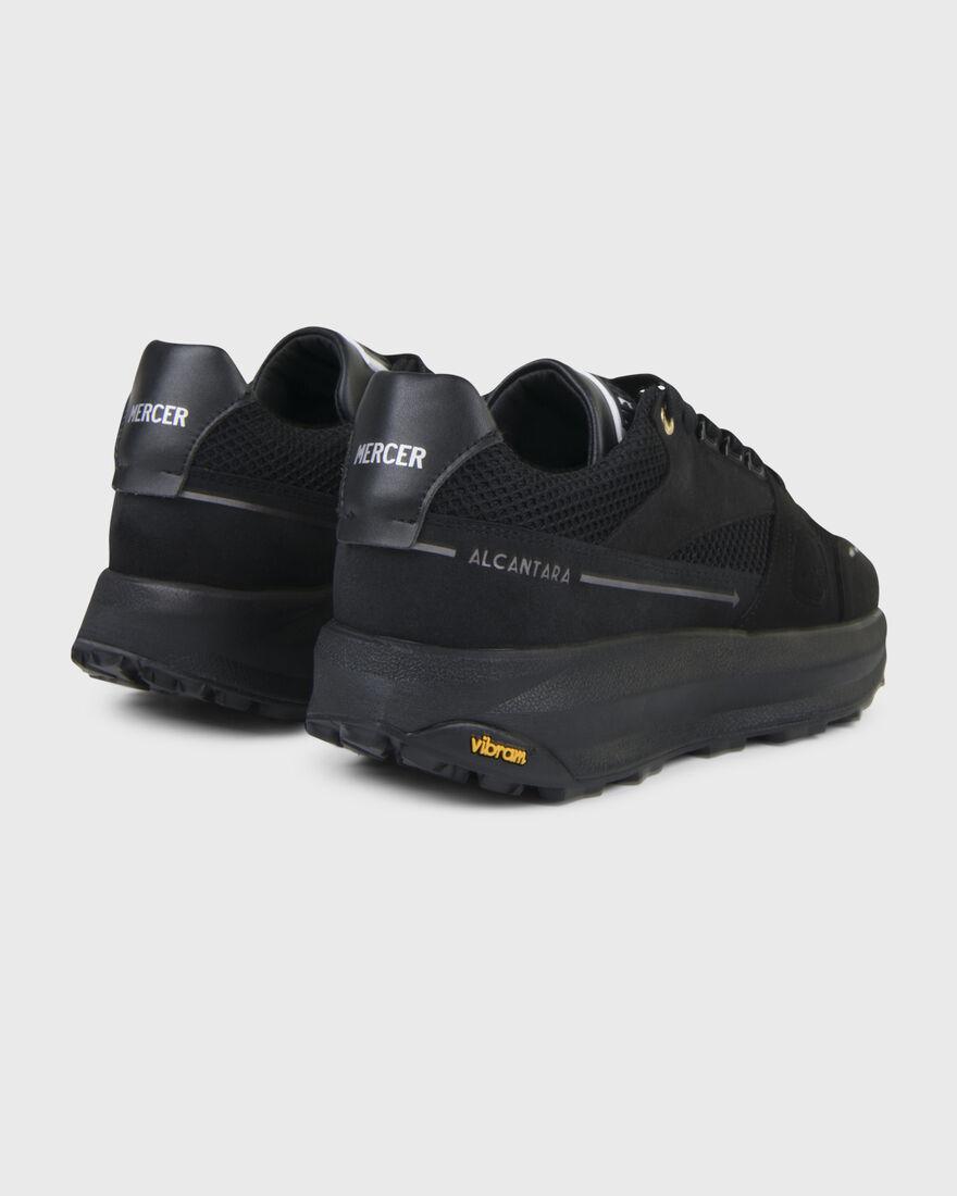 RACER LUX - ALCANTARA - BLACK, Black/Black, hi-res