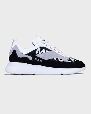 W3RD - PRINTED MESH - BLACK/WHITE
