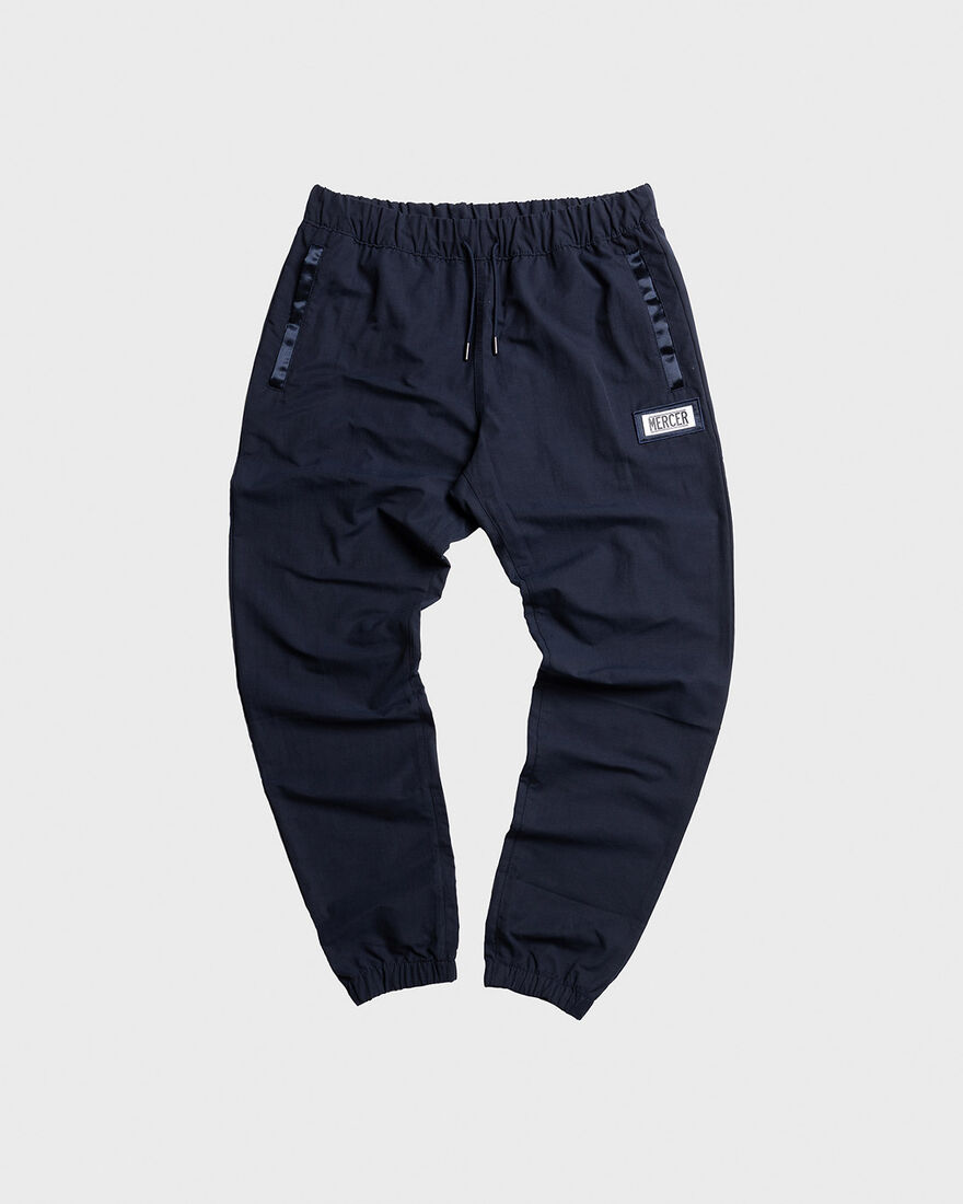 MERCER PANTS - NYLON - BLACK, Navy, hi-res