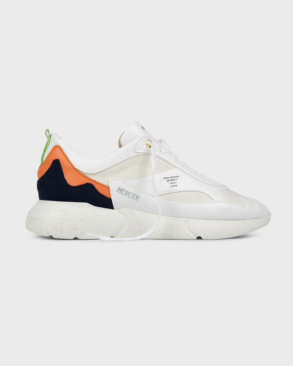W3RD Vegan White Navy Orange