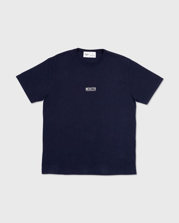 Mercer T-Shirt Premium Cotton Navy