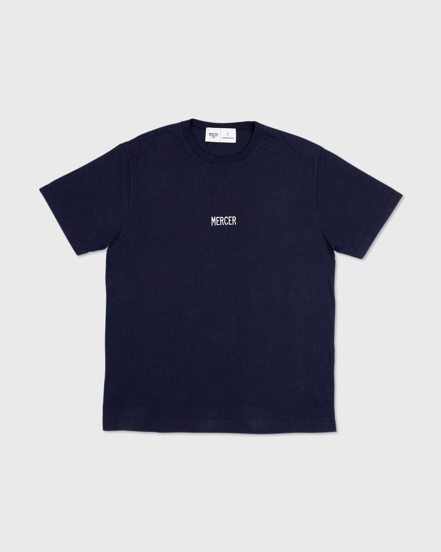 Mercer t-shirt, Navy, hi-res