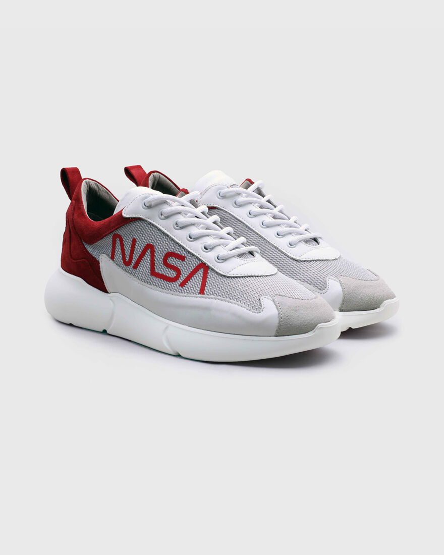 W3RD, White/Red, hi-res