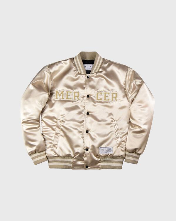 Mercer Varsity Jacket Bone White