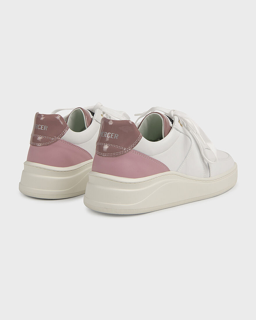 LOWTOP 4.0 - VEGAN - WHITE / PINK, White/Miscellaneous, hi-res