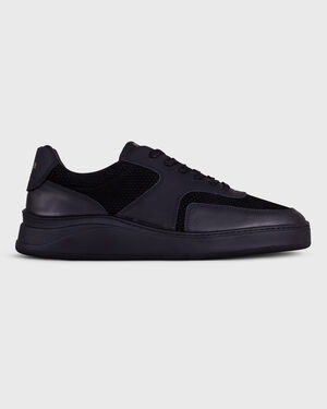 LOWTOP 4.0 GUM LEATHER BLACK