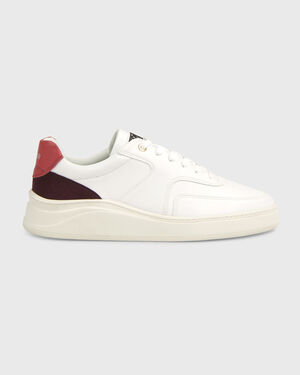 Lowtop 4.0 Nappa/Suede White/Red
