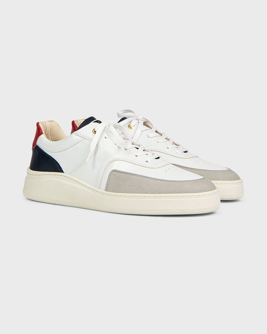 Lowtop 4.0, White/Blue, hi-res