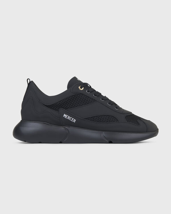 W3RD Matte Gum Leather Triple Black