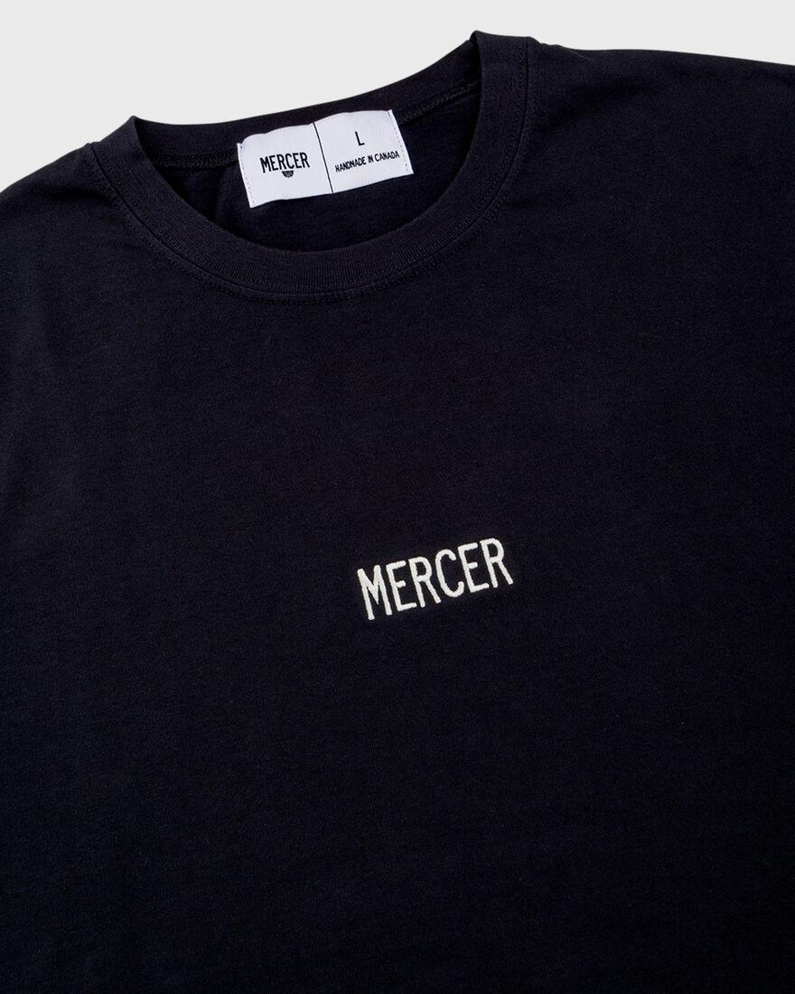 Mercer t-shirt, Black, hi-res