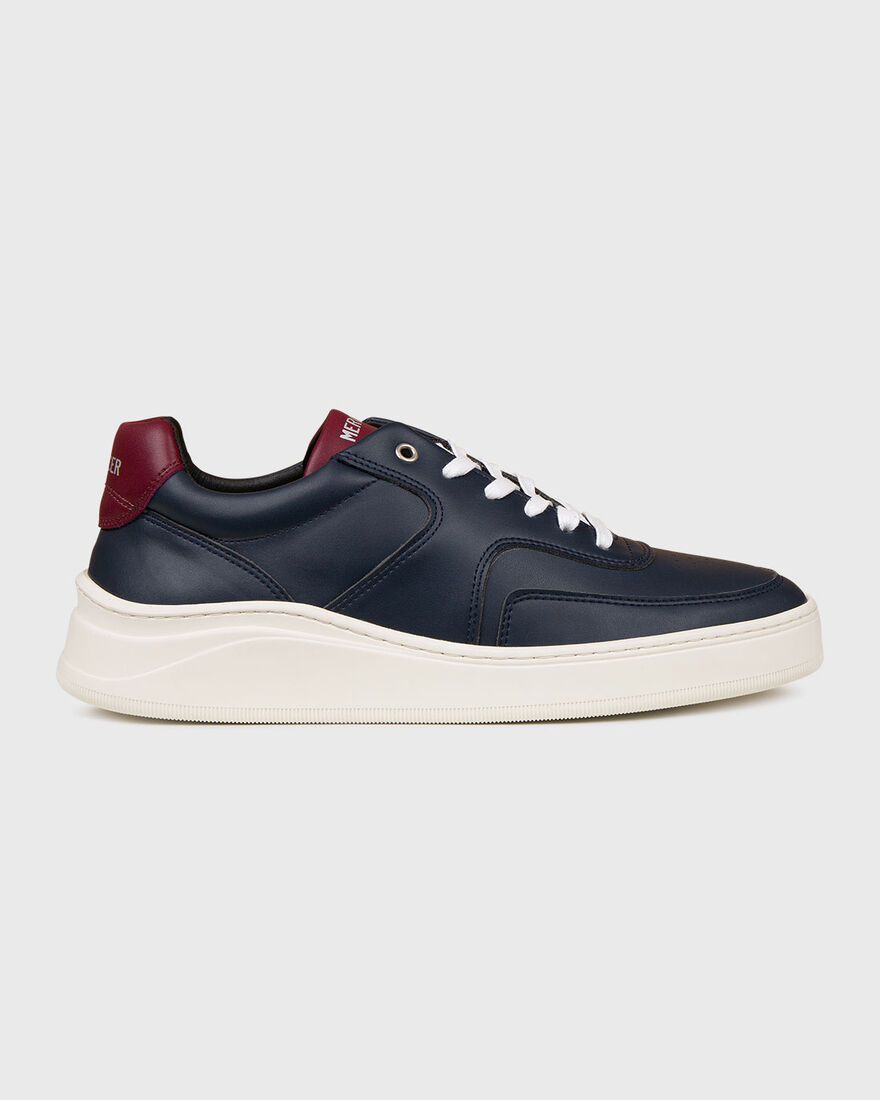 LOWTOP 4.0 - VEGAN LEATHER - N, Blue/Red, hi-res