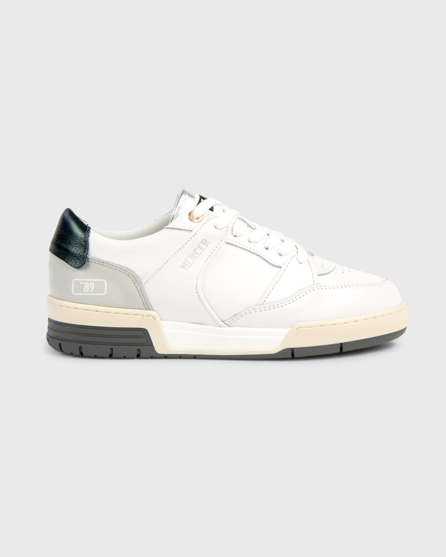 "BASKET ""89 - NAPPA - WHITE / GREY / GREEN, White/Grey, hi-res"