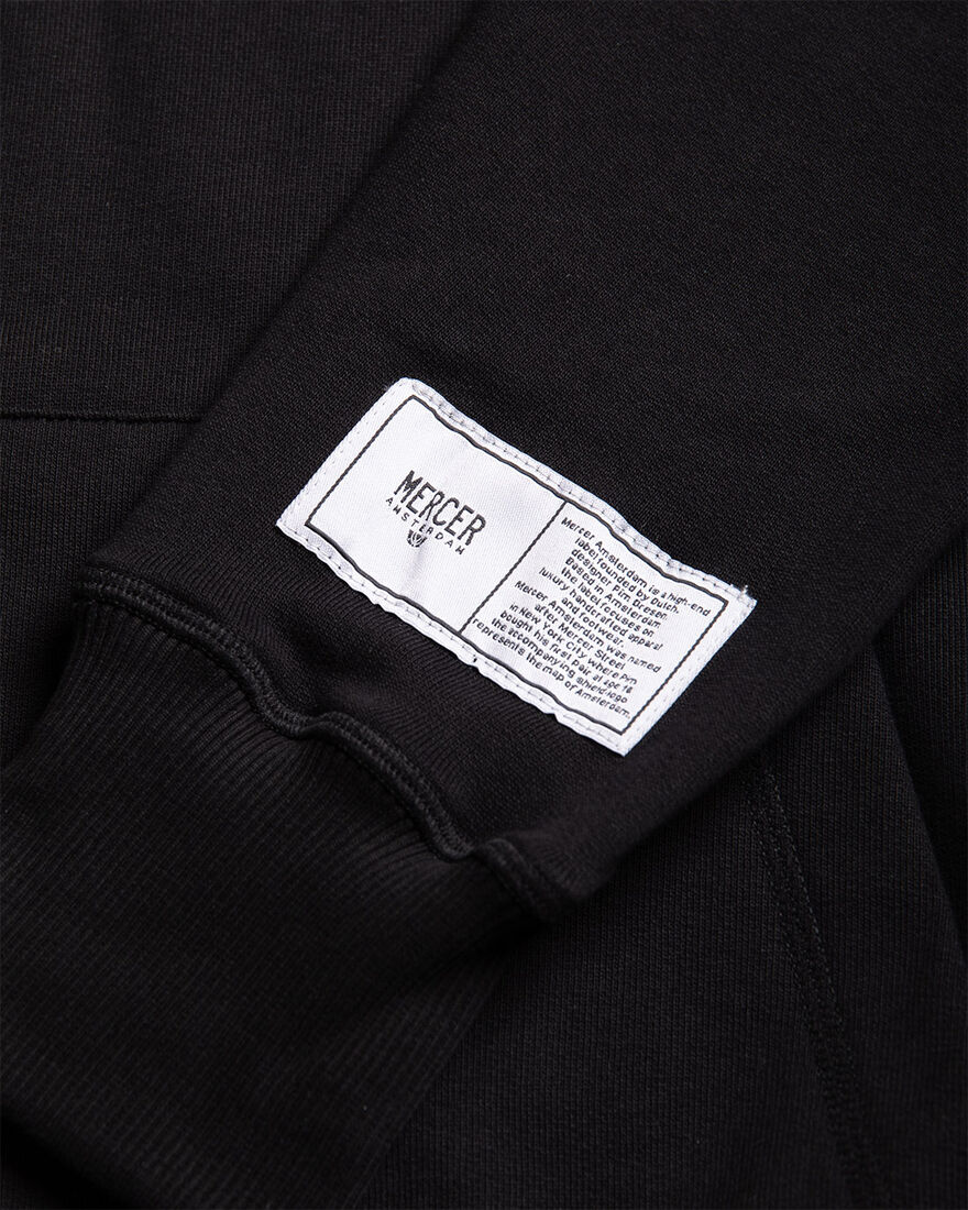 MERCER T-SHIRT - PREMIUM COTTO, Black/Black, hi-res