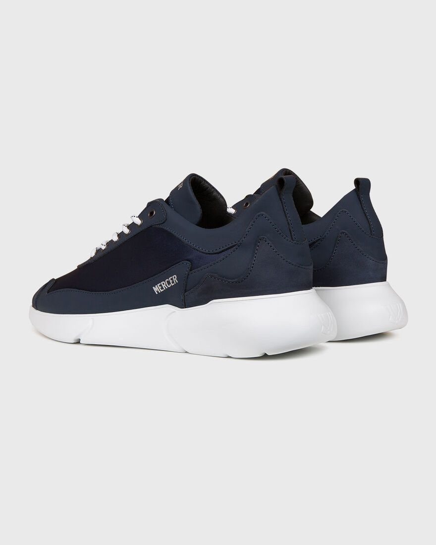 W3RD - PINEAPPLE LEATHER - SIL, Navy, hi-res