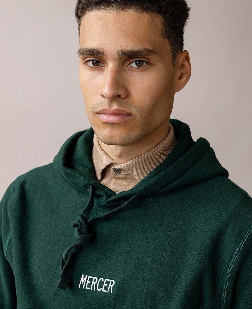 Mercer Hoodie, Army green, hi-res