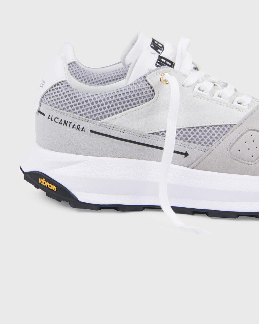 RACER LUX - ALCANTARA - GREY, White, hi-res