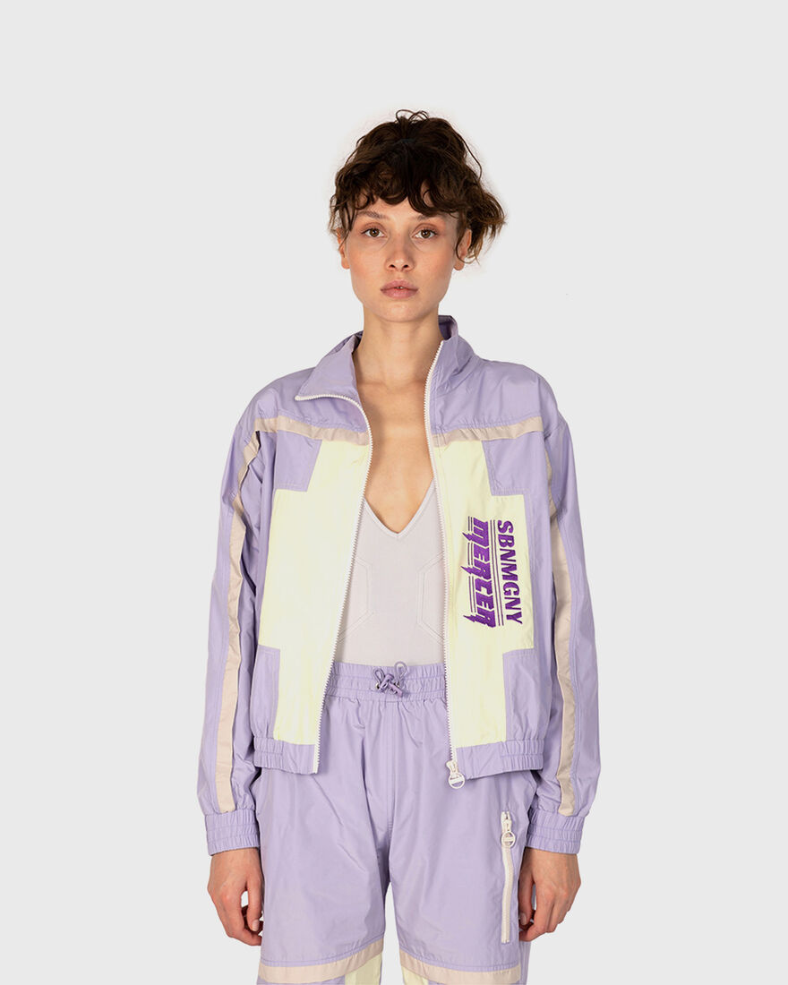 Mercer x Starter Jacket, Purple, hi-res