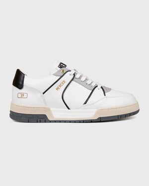 "Basket ""89 Nappa White/Black"