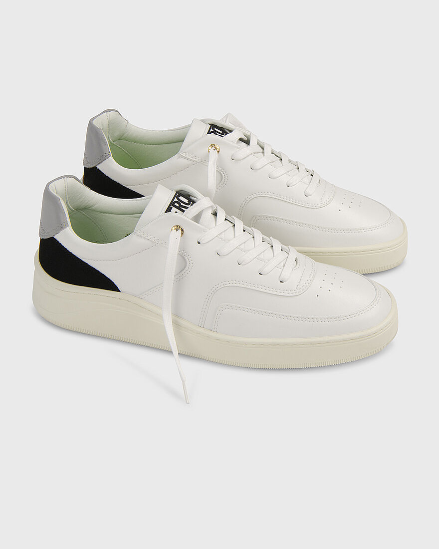 LOWTOP 4.0 - GUM LEATHER PYTHON - BLACK, White, hi-res