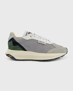 Racer Suede Navy/Green