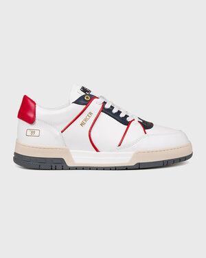 """Basket """"89 Nappa White/Navy/Red"""