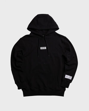 Mercer Hoodie Premium Cotton Black