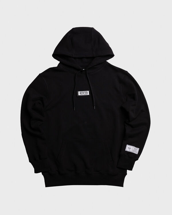 Mercer Hoodie Premium Cotton Black