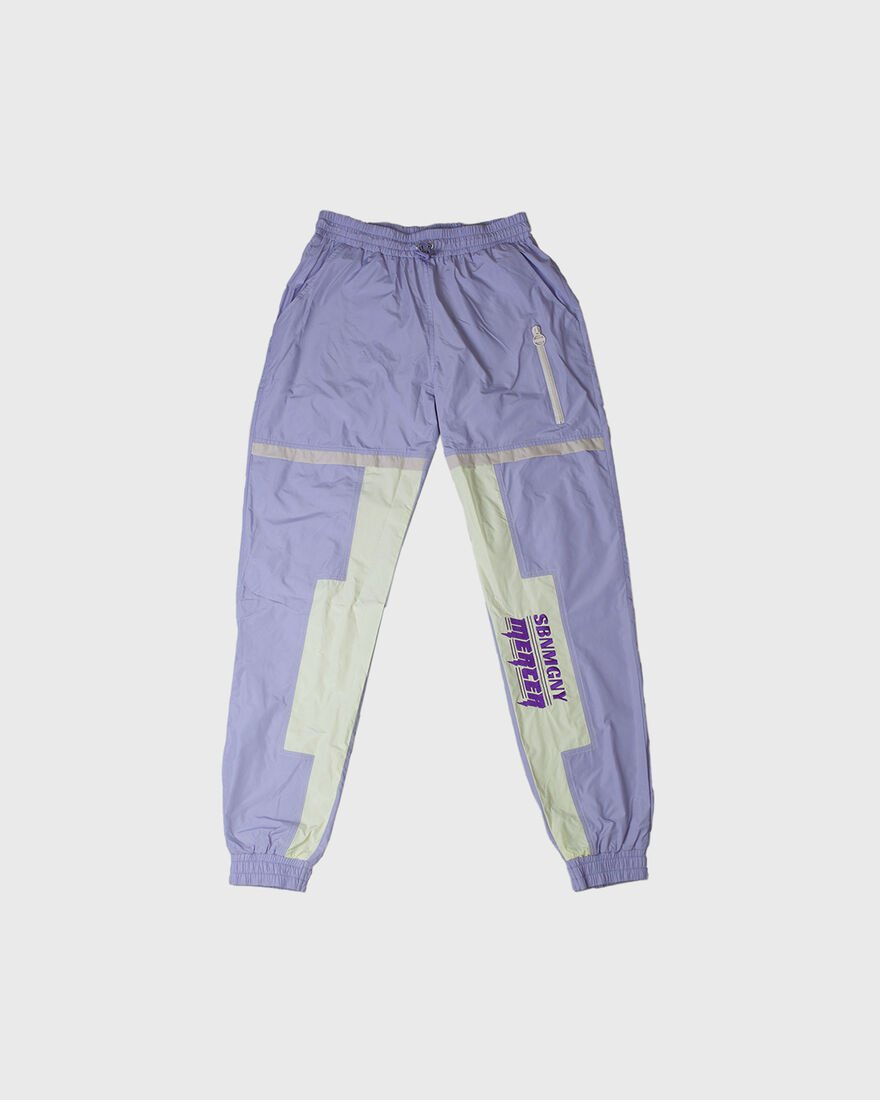 MERCER PANTS - NYLON - BLACK, Purple, hi-res