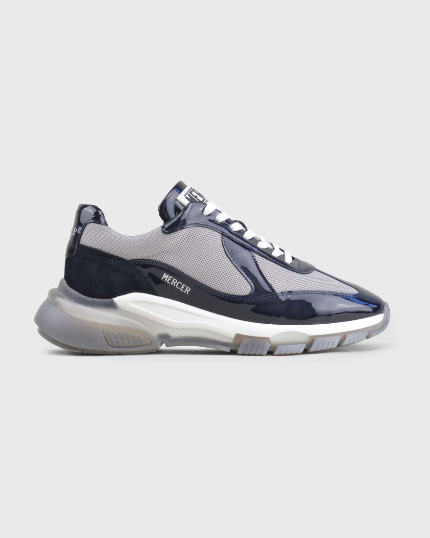 WOOSTER 2.0 MEN - PATENT LEATHER - WHITE, Navy, hi-res