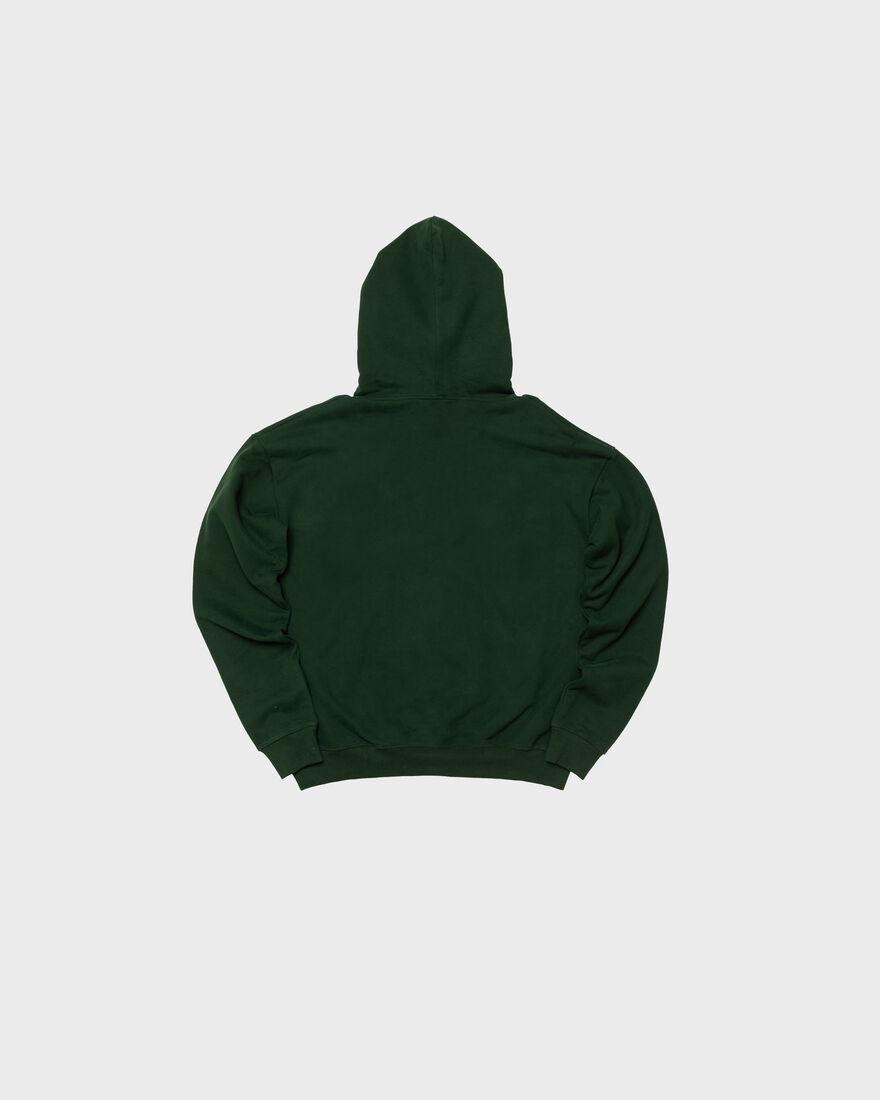 MERCER HOODIE - PREMIUM COTTON - GREY, Dark green, hi-res