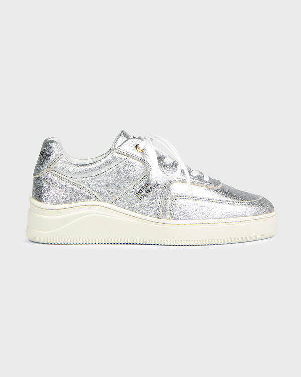 Lowtop 4.0 Pineapple Leather Silver