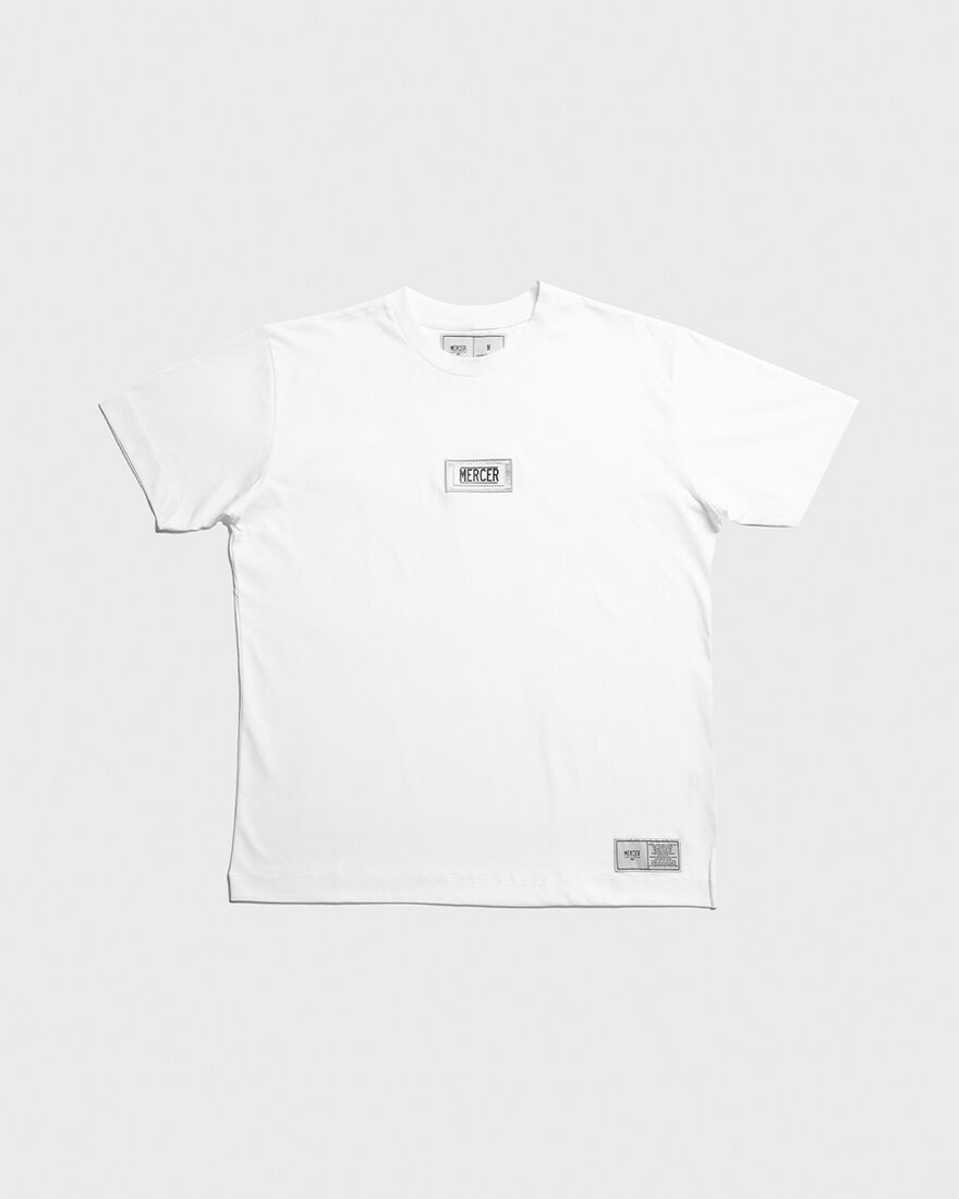 MERCER T-SHIRT - PREMIUM COTTO, White, hi-res