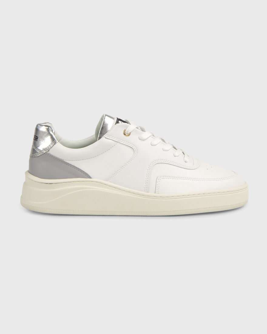 LOWTOP 4.0 - VEGAN - WHITE / PINK, White/Grey, hi-res