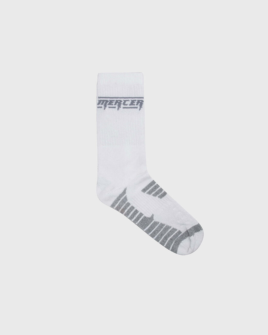 Mercer Socks - 3pack - Cotton, White, hi-res