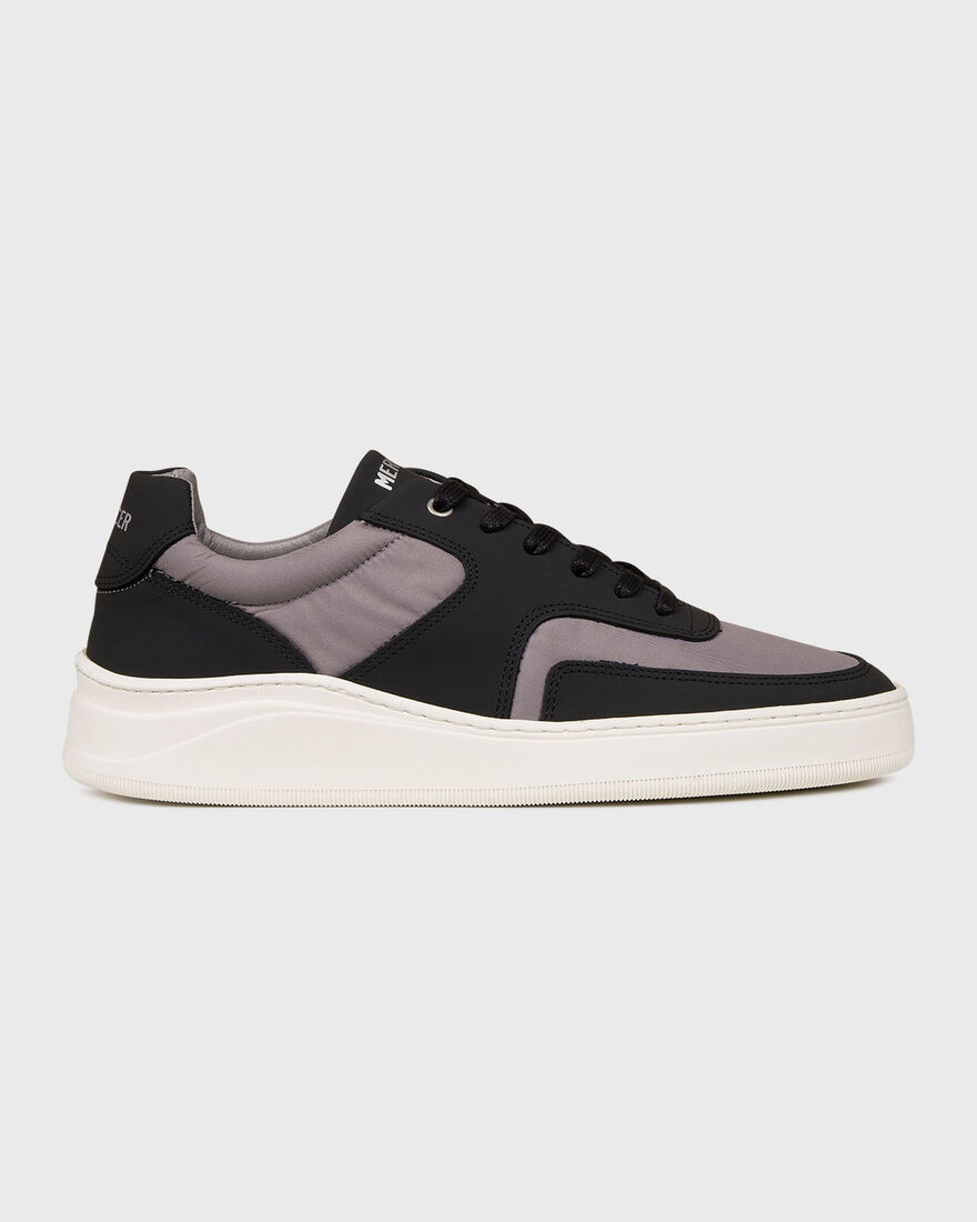 LOWTOP 4.0 - VEGAN LEATHER - N, Black/Grey, hi-res