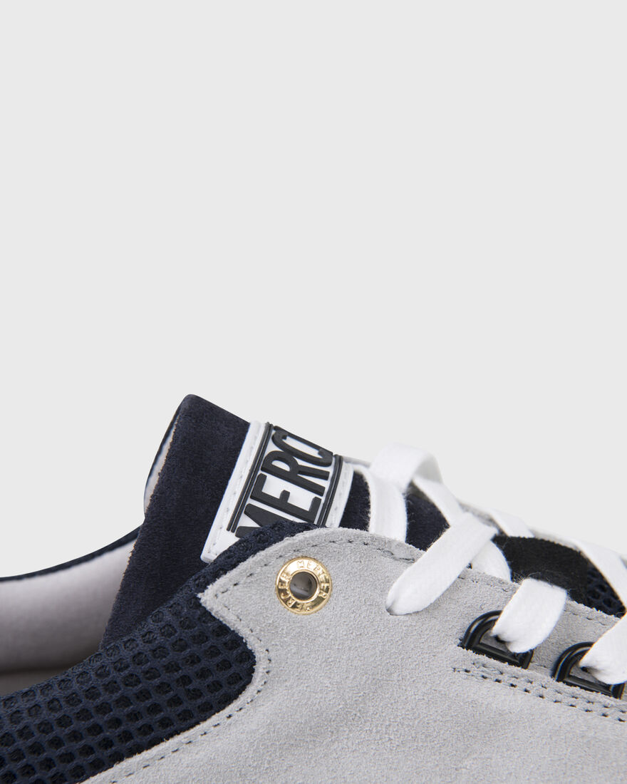 RACER LUX - SUEDE - NAVY / BLACK, Grey, hi-res