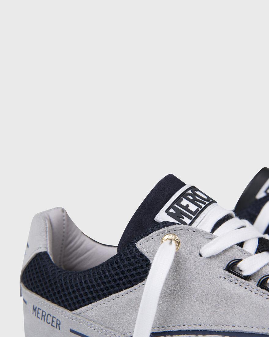 RACER LUX - SUEDE - GREY/NAVY, Grey, hi-res