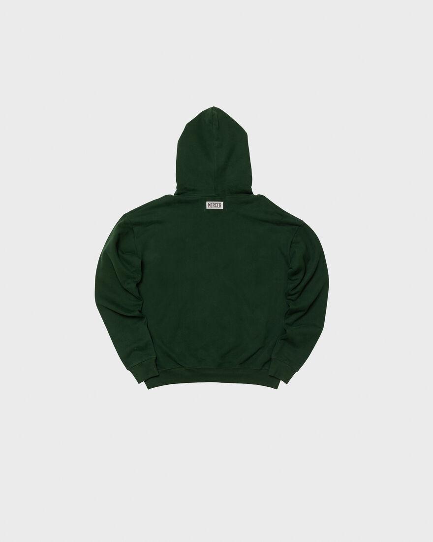 MERCER HOODIE - PREMIUM COTTON - YELLOW, Dark green, hi-res