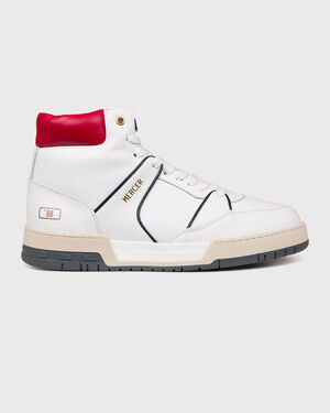 "Basket ""88 Nappa White/Navy/Red"