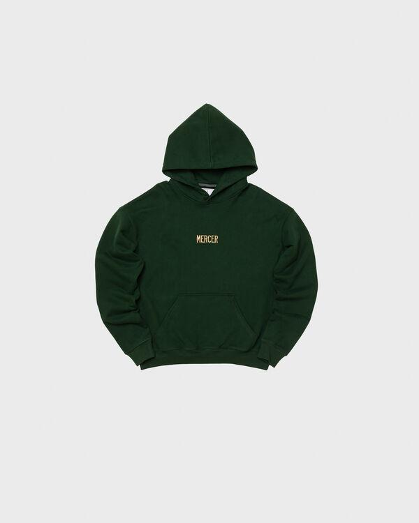 Mercer Hoodie Premium Cotton Dark Green