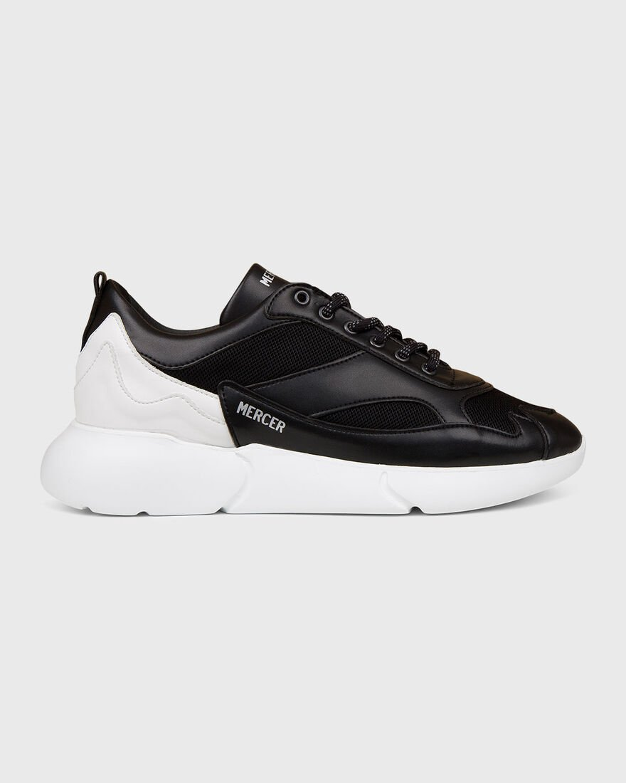W3RD - PINEAPPLE LEATHER - CRE, Black/White, hi-res