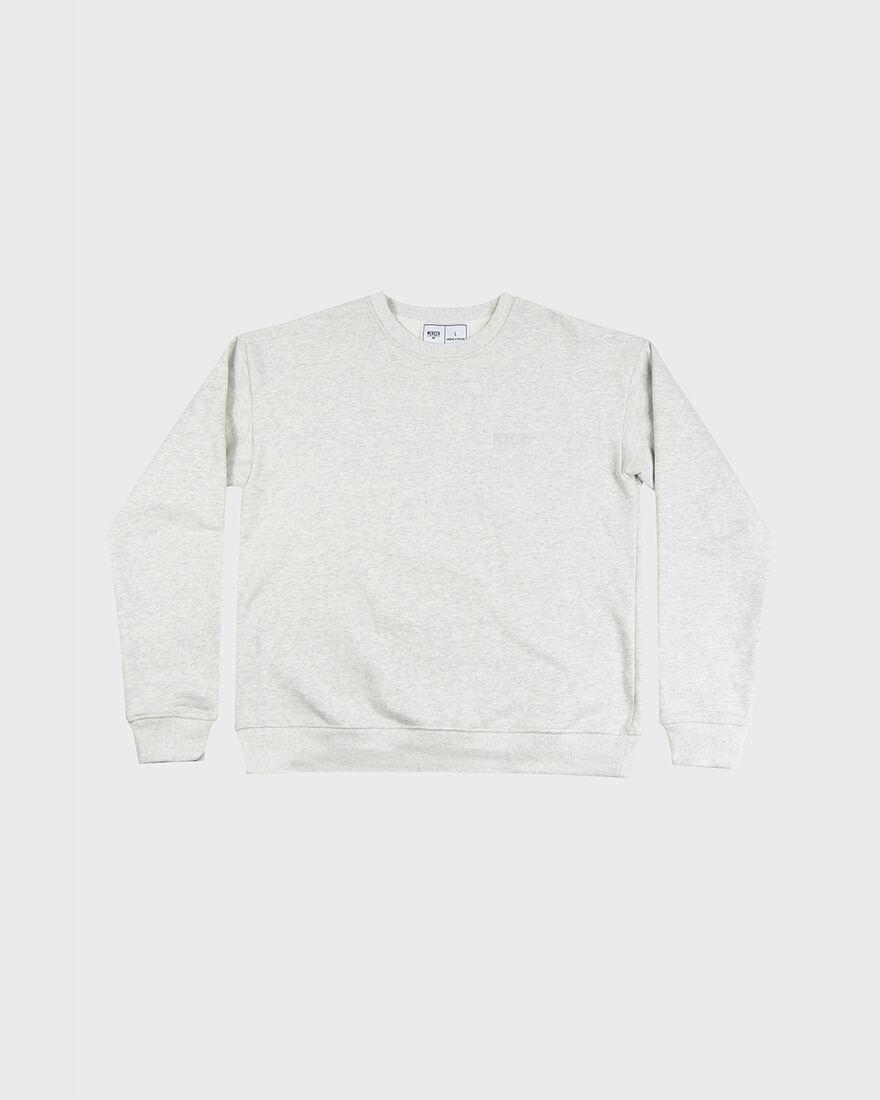 MERCER SWEATSHIRT - PREMIUM COTTON - NAVY, Grey, hi-res