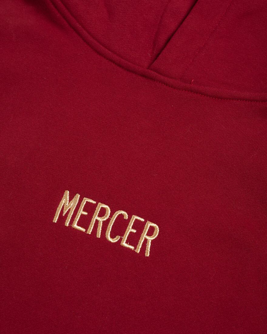 MERCER HOODIE - PREMIUM COTTON - YELLOW, Bordeaux, hi-res