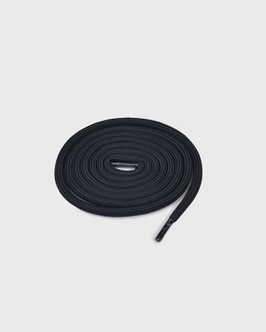 MERCER LACES - THICK ROUND - W, Black/Miscellaneous, hi-res