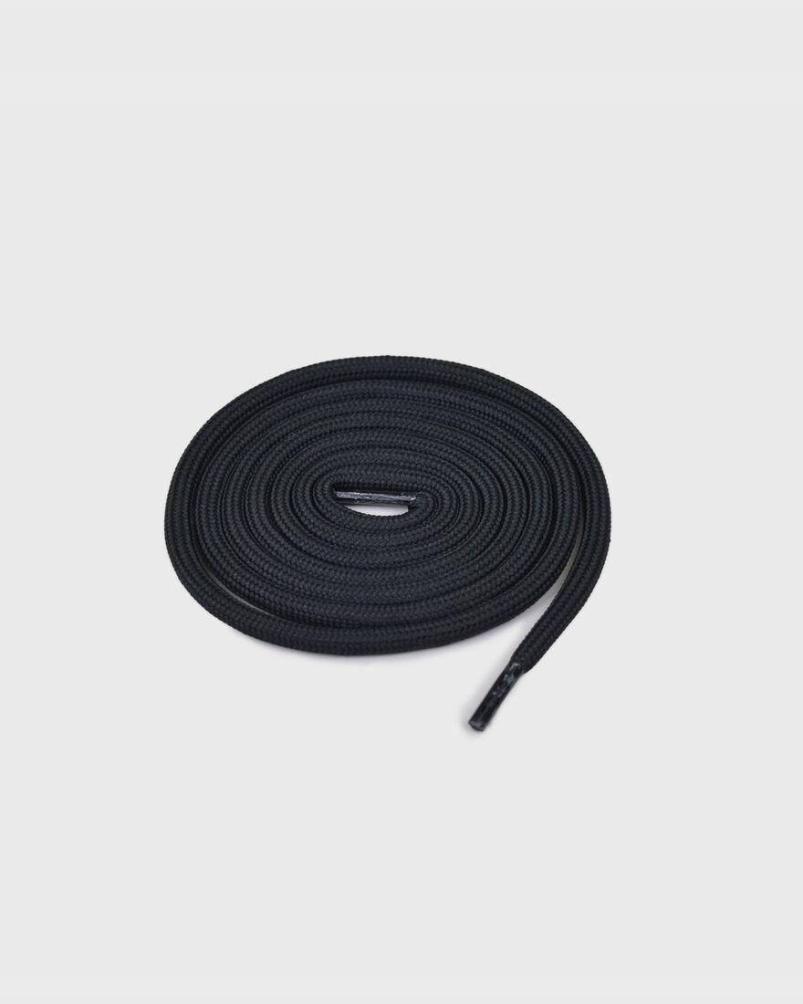 MERCER LACES - THICK ROUND - B, Black/Miscellaneous, hi-res
